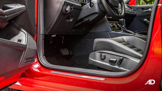 volkswagen lamando review road test front legroom interior philippines
