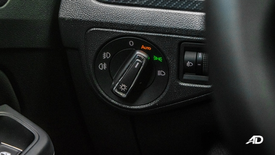 volkswagen lamando review road test headlight controls interior philippines