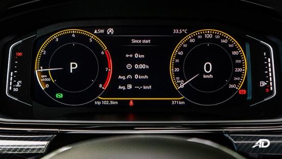 volkswagen lamando review road test instrument cluster interior
