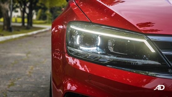 volkswagen lamando review road test led headlights exterior