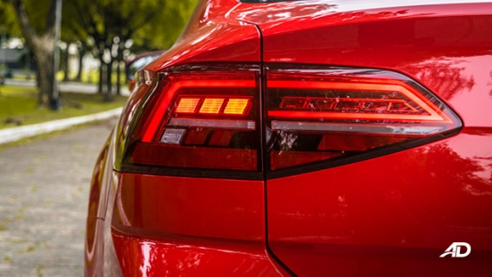 volkswagen lamando review road test led taillights exterior