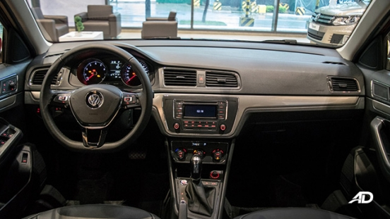 volkswagen lavida showroom dashboard interior