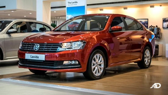 volkswagen lavida showroom front quarter exterior philippines