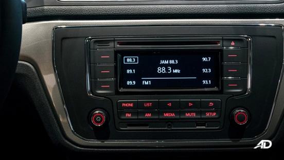 volkswagen lavida showroom infotainment system interior
