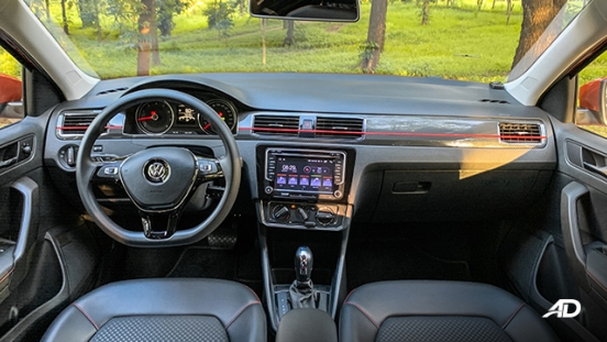 volkswagen santana GTS road test review dashboard interior philippines