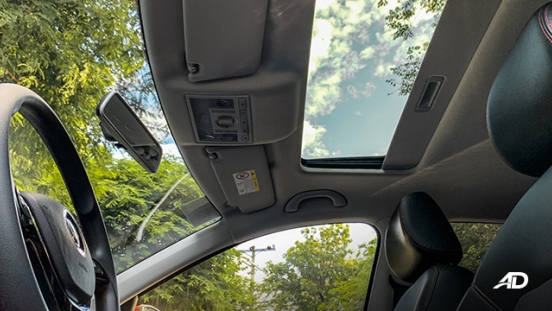 volkswagen santana GTS road test review sunroof interior philippiens