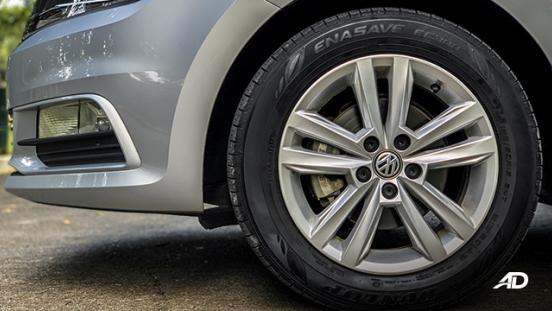 volkswagen santana road test wheels