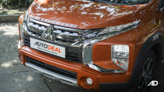 Xpander Cross Philippines front grille and headlights