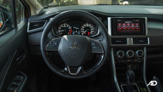 Xpander Cross Philippines steering wheel interior