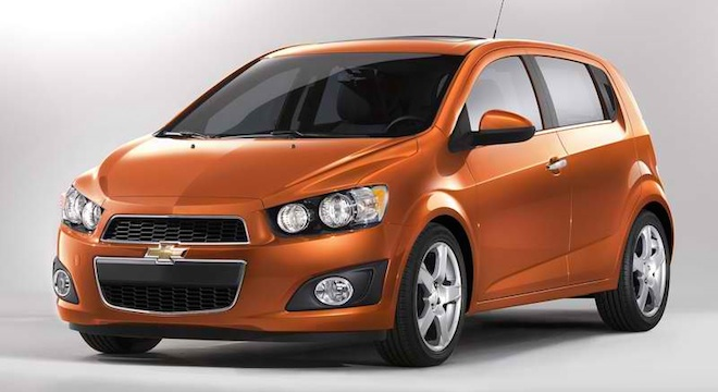 Chevrolet Sonic Hatchback
