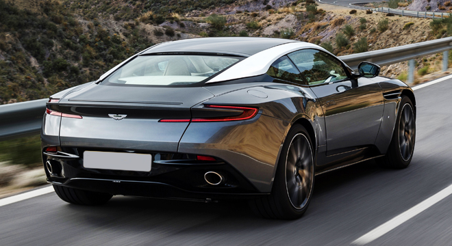 2018 Aston Martin DB11 Coupe rear