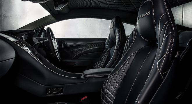 2018 Aston Martin Vanquish S interior