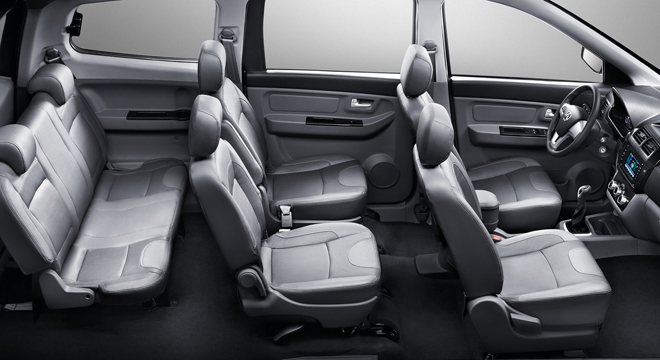 2018 BAIC MZ40 interior seats