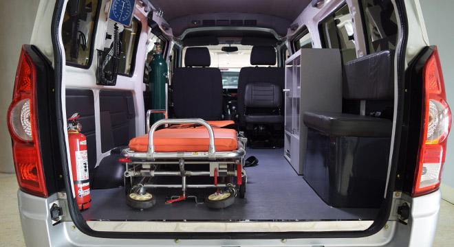 2018 BAIC MZ45 Ambulance rear