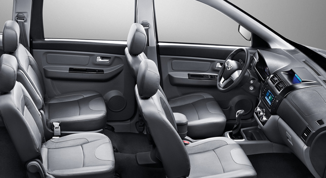 2018 BAIC MZ45 interior seats