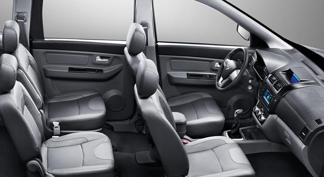 2018 BAIC MZ45 interior seats