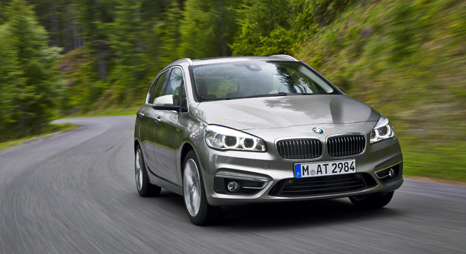 2018 BMW 2-Series Gran Tourer road