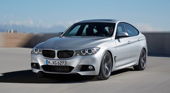 2018 BMW 3-Series Gran Turismo front