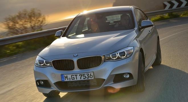 2018 BMW 3-Series Gran Turismo grille