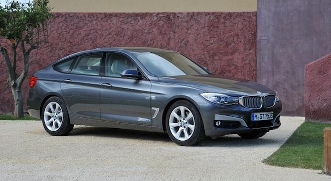 2018 BMW 3-Series Gran Turismo profile