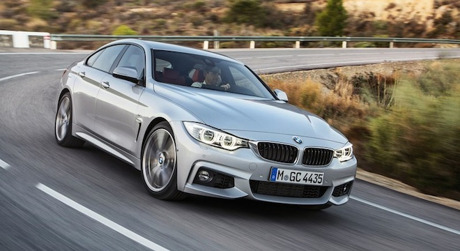 2018 BMW 4-Series Gran Coupe front