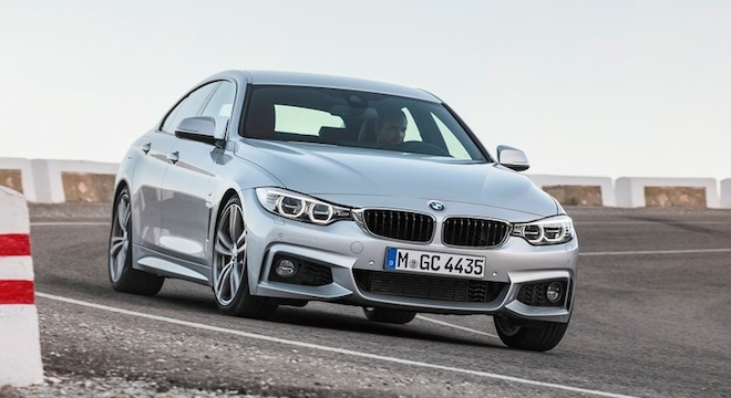 2018 BMW 4-Series Gran Coupe grille
