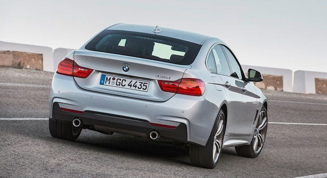 2018 BMW 4-Series Gran Coupe rear