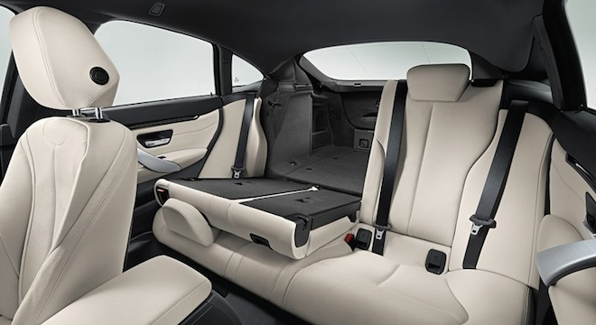 2018 BMW 4-Series Gran Coupe rear seats