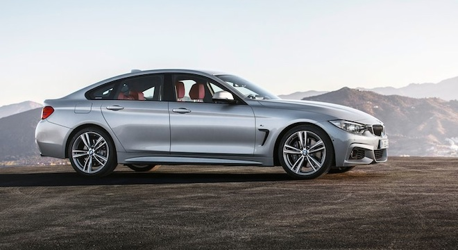 2018 BMW 4-Series Gran Coupe side