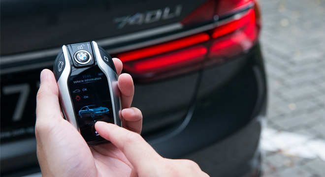 2018 BMW 7-Series key fob