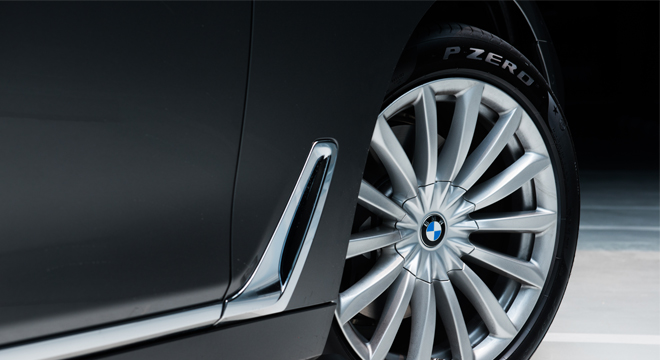 2018 BMW 7-Series wheels