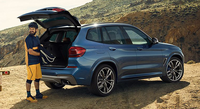 2018 BMW X3 trunk