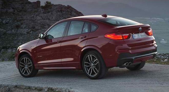 2018 BMW X4 Rear