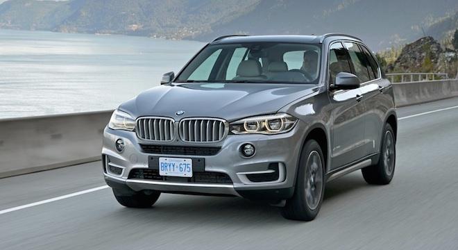 2018 BMW X5 fascia