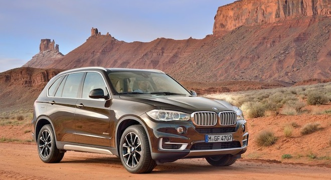 2018 BMW X5 front