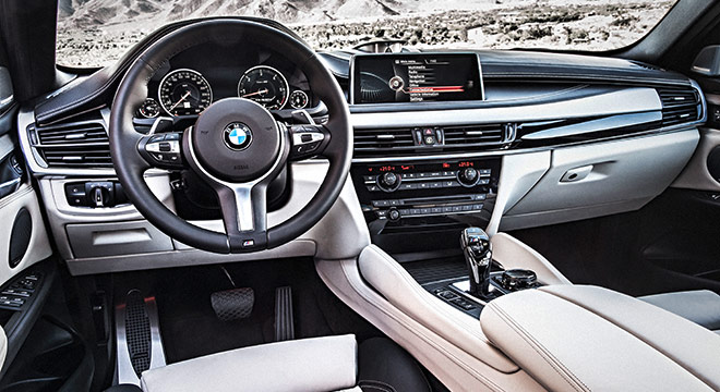 2018 BMW X6 dashboard