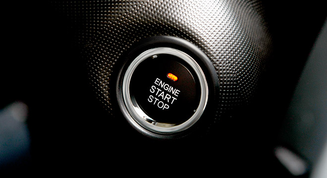 2018 BYD F0 Push Start Button