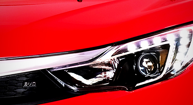 2018 BYD S1 headlight