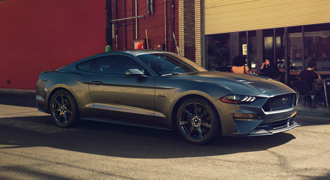 2018 Ford Mustang 2.3L EcoBoost Side