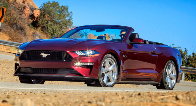 2018 Ford Mustang 5.0 GT Premium Convertible Front