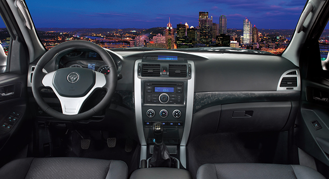 2018 FOTON Thunder interior