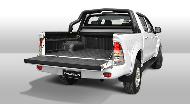 2018 FOTON Thunder rear bed