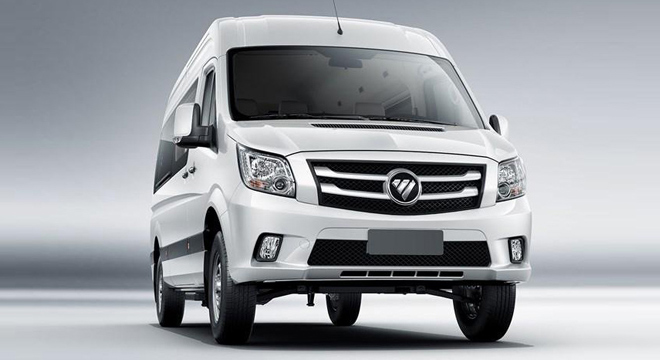 2018 FOTON Toano front