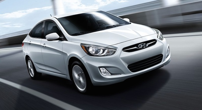 2018 Hyundai Accent Sedan silver front