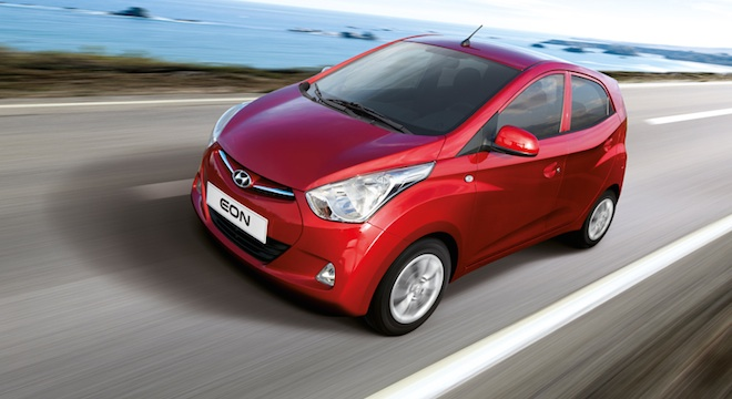 2018 Hyundai Eon red