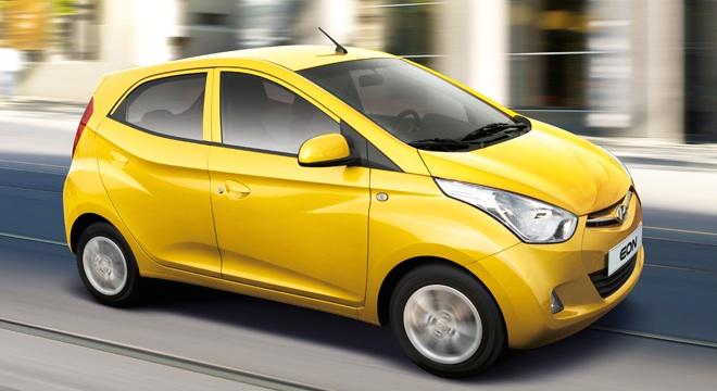 2018 Hyundai Eon yellow