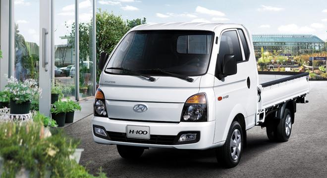 2018 Hyundai H100 front quarter