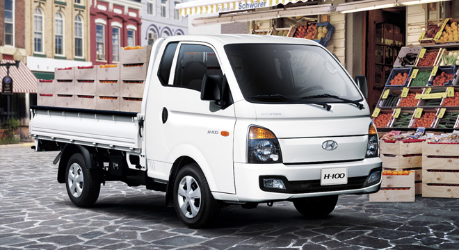 2018 Hyundai H100 side