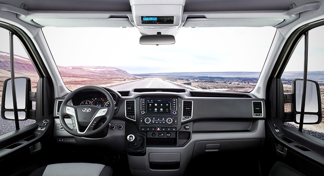 2018 Hyundai H350 dashboard