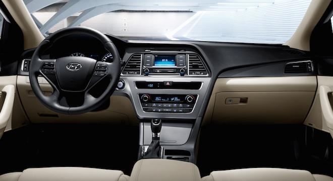 2018 Hyundai Sonata dashboard